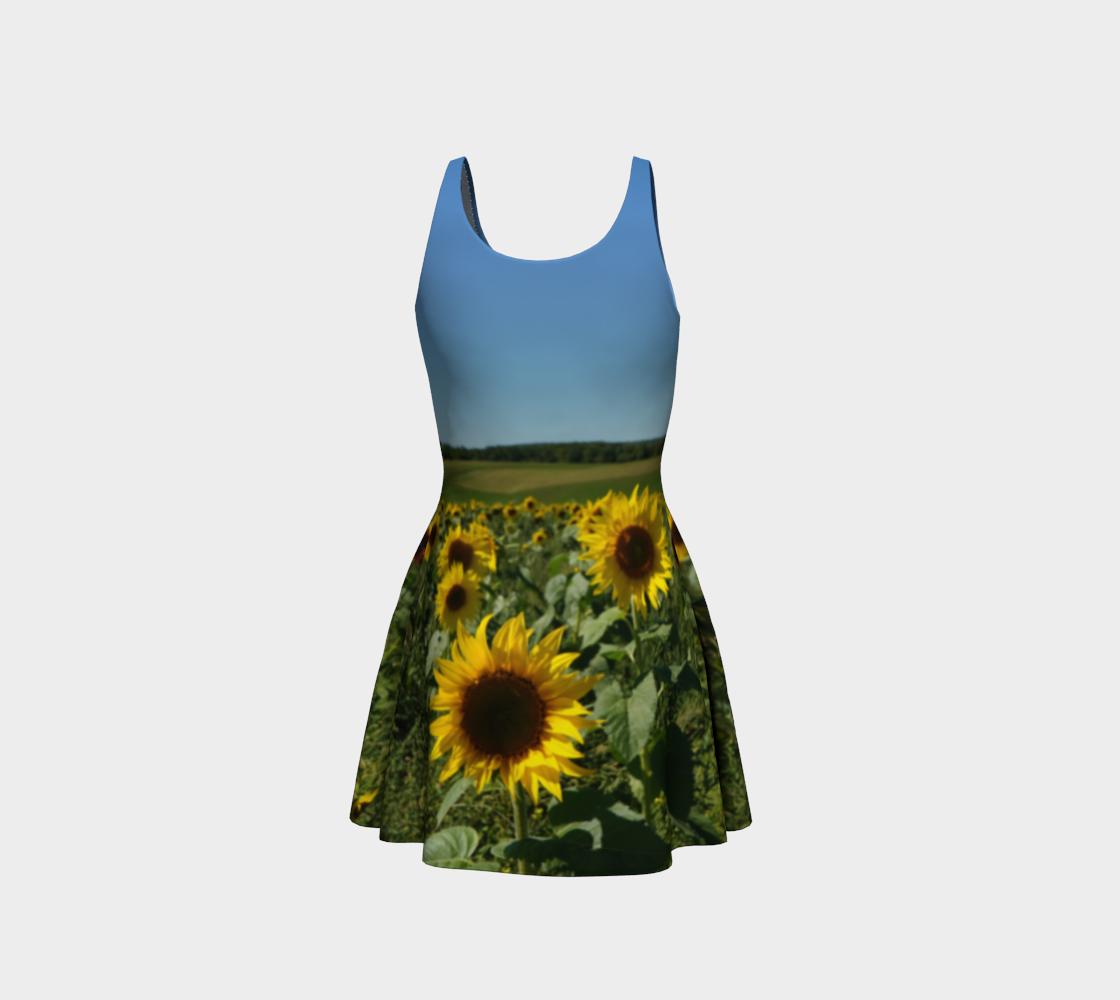 Sunflower Field Dress preview #3