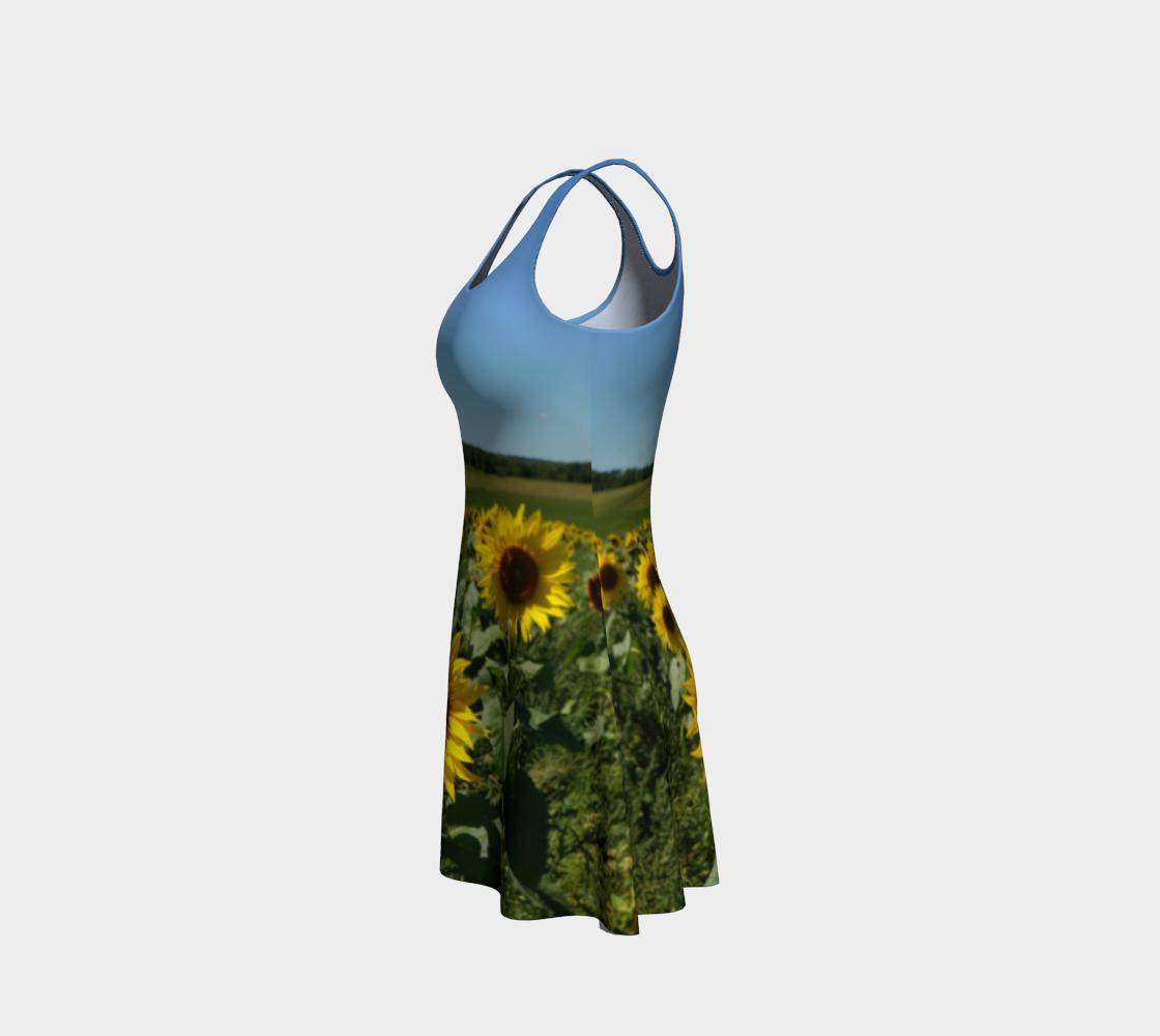 Sunflower Field Dress preview #2
