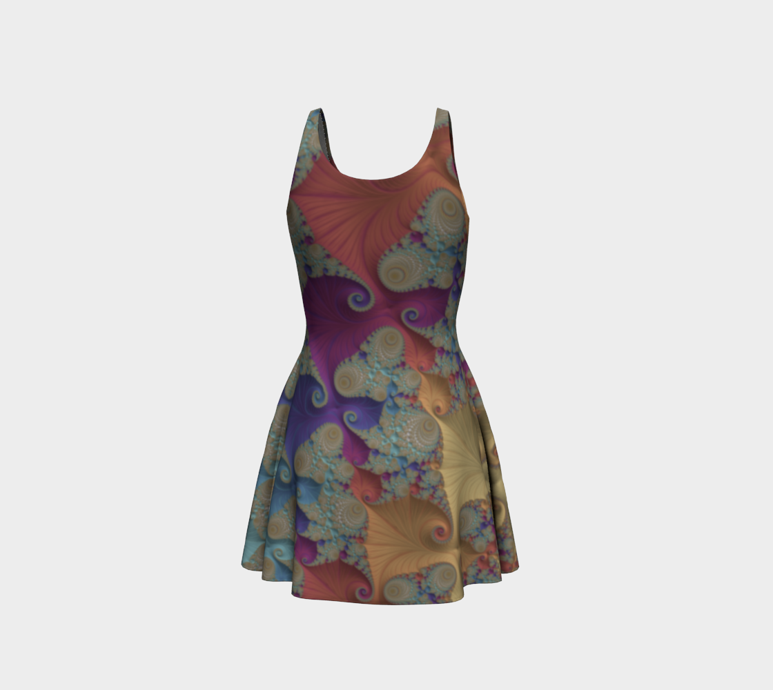Pastel Parade Flare Dress  preview #3