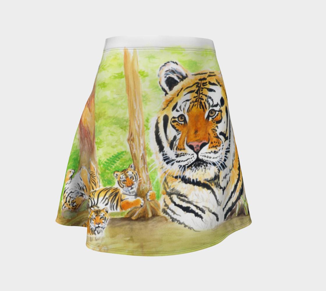 Aperçu de Seth Tiger Flare Skirt