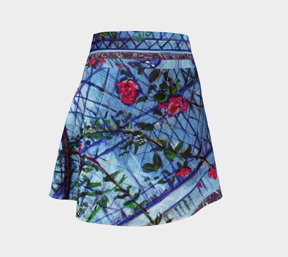Roses & Brambles Criss-Cross Flare Skirt preview
