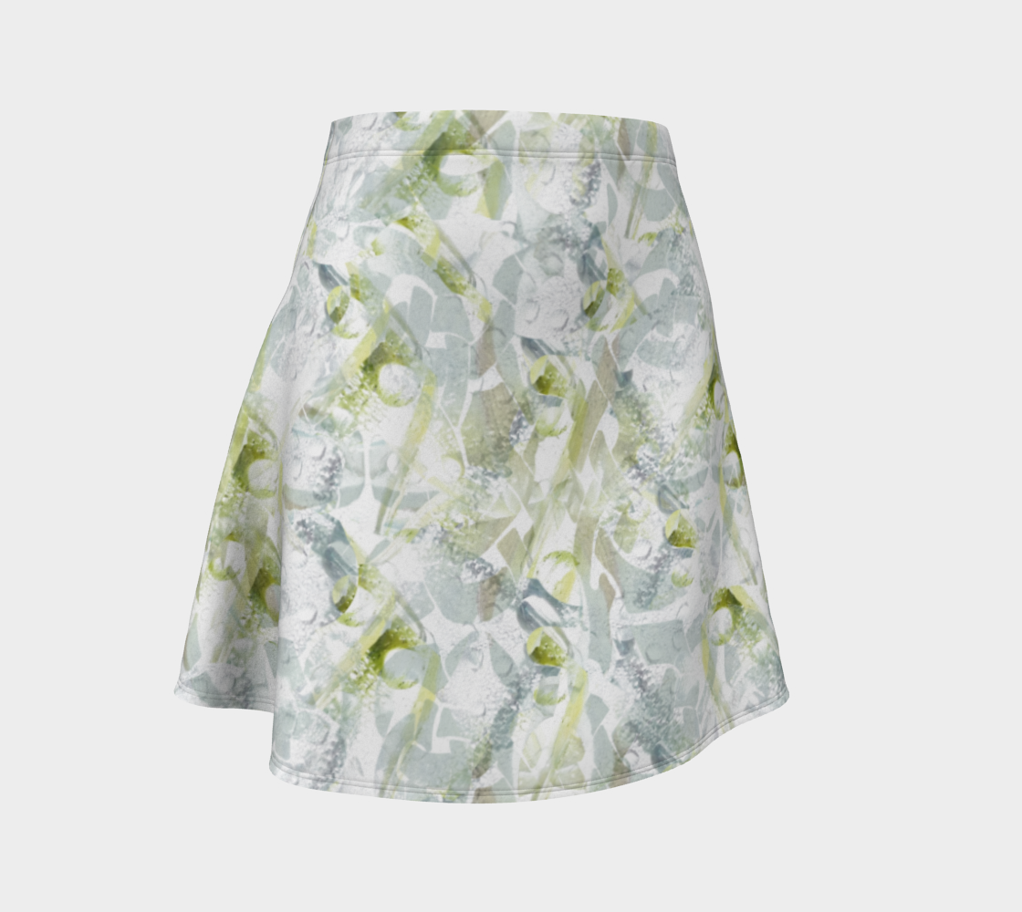 Spring Equinox Flare Skirt by Laura Davis Art Studio preview