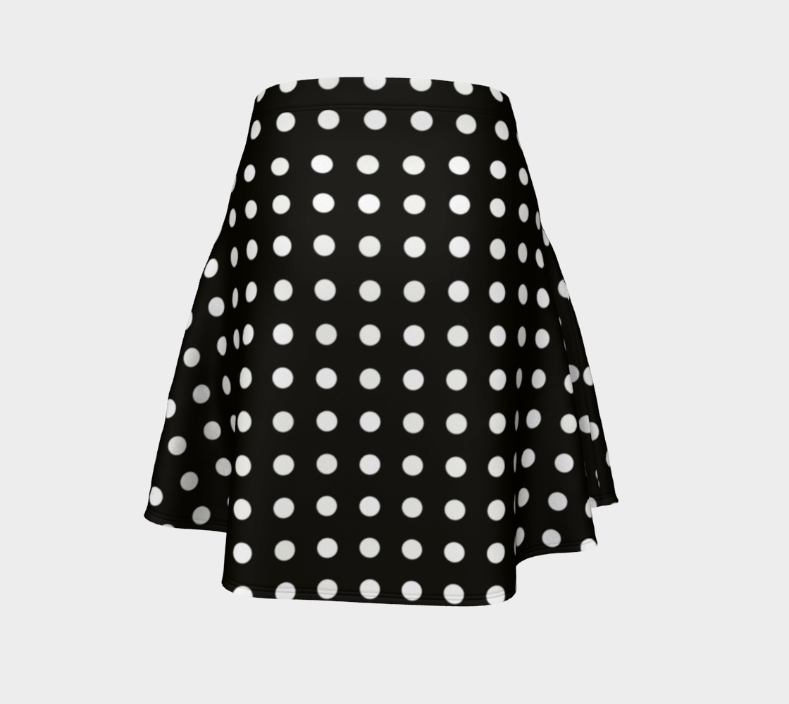 Black and White Polka Dots preview #4
