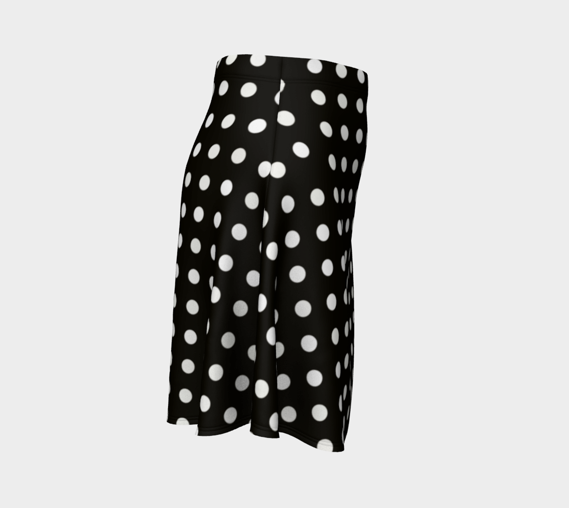 Black and White Polka Dots preview #3