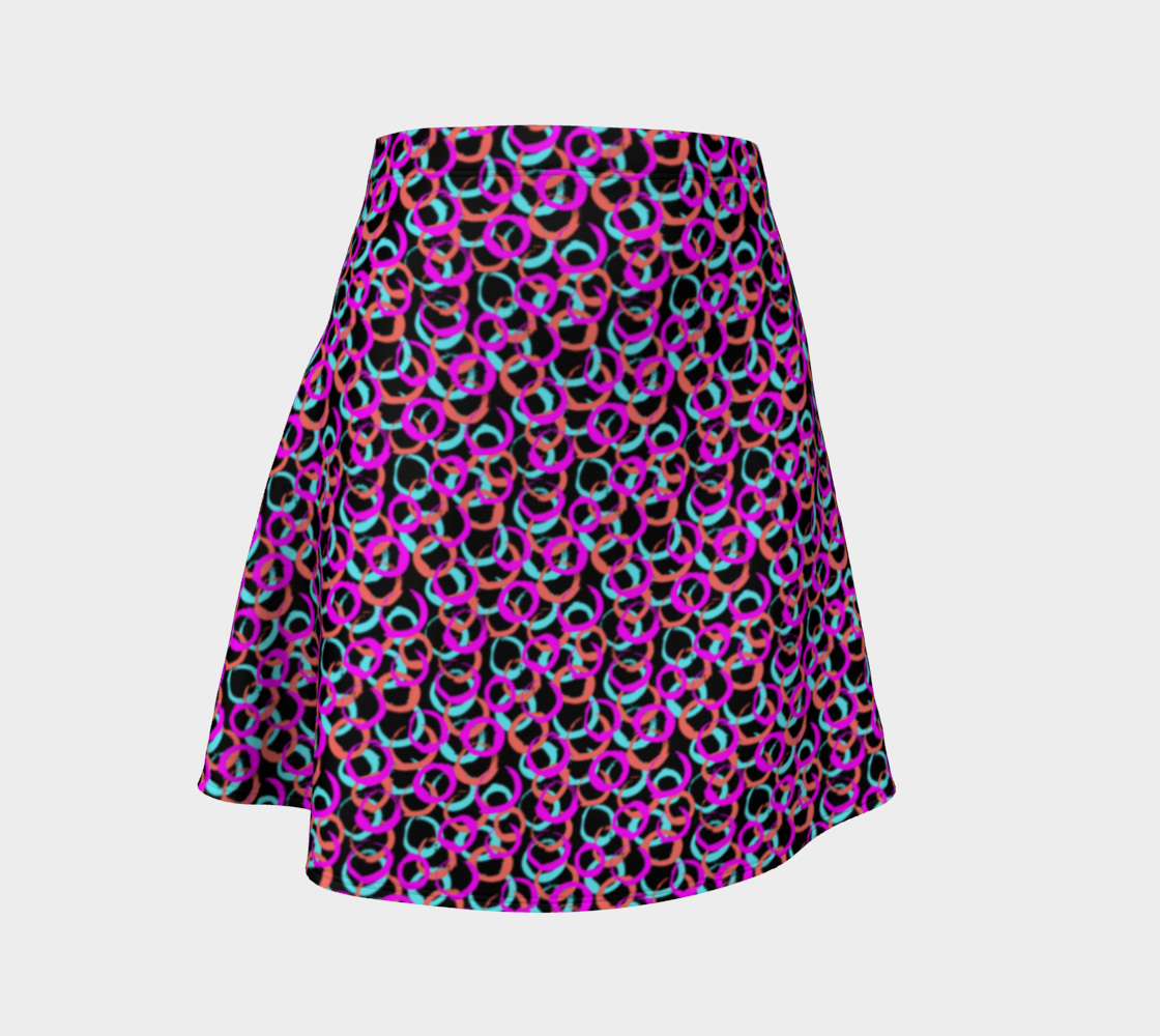 Hoops and Loops Flare Skirt preview