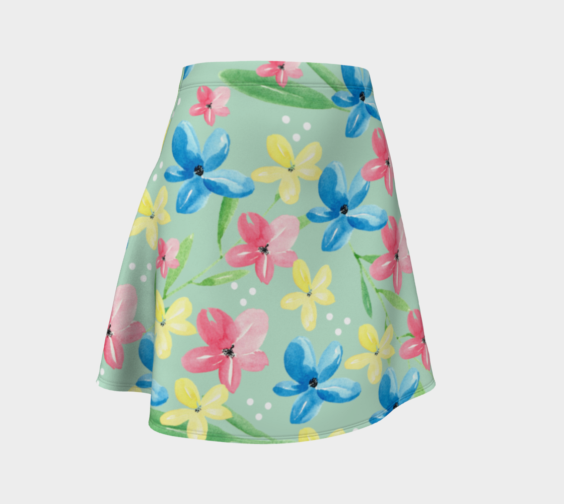 Floral Flare Skirt preview