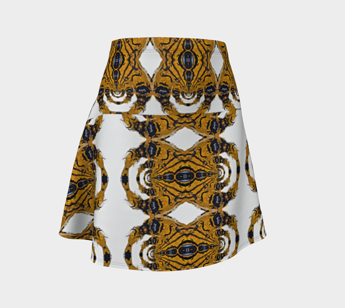 Tiger Huntress Tribal Flare Skirt preview