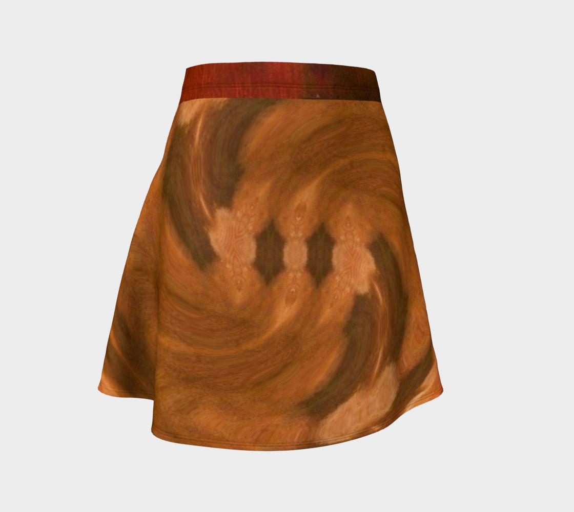 Terra Spun Whirlwind Print Flare Skirt preview