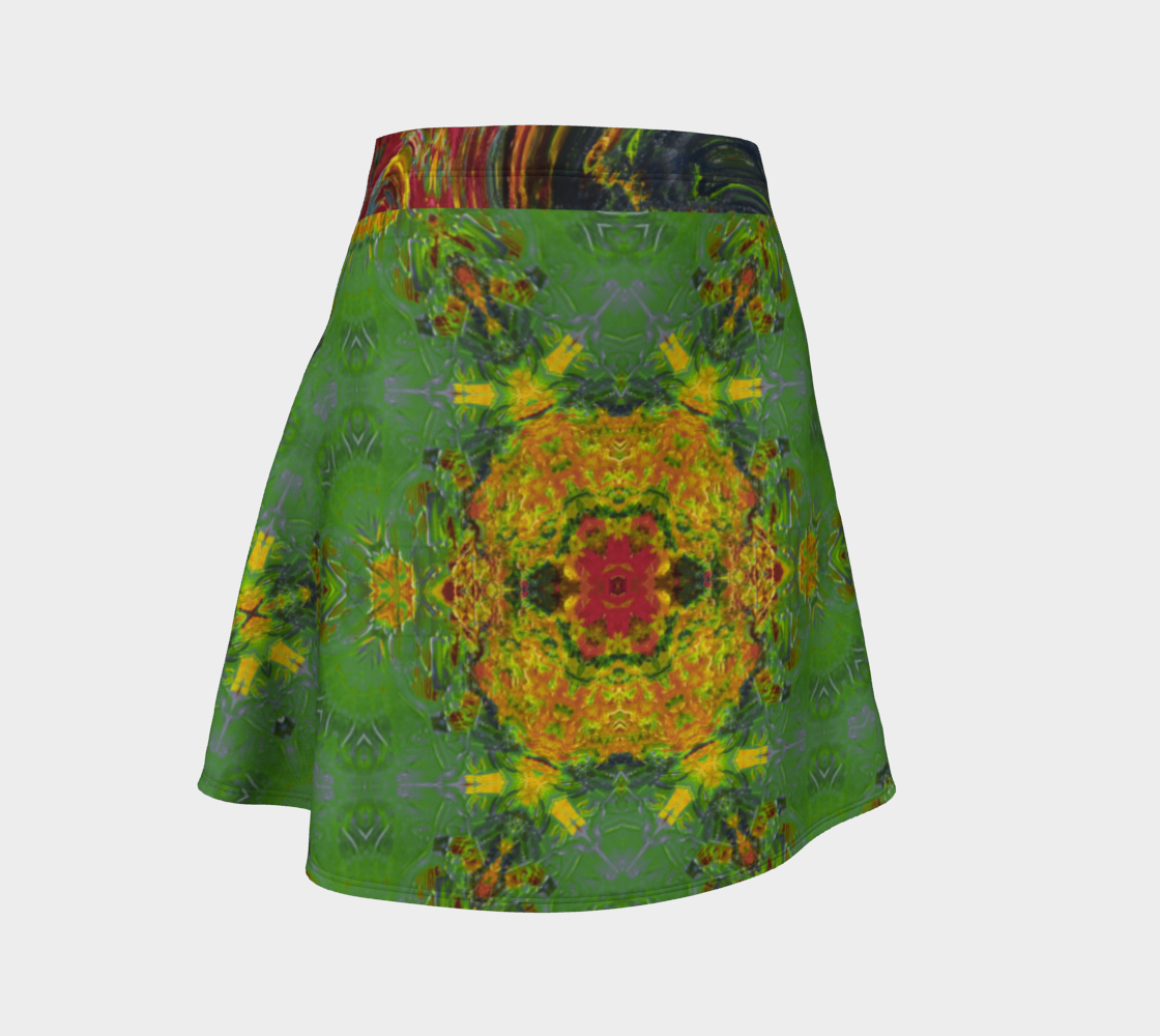 Becket Crossed-Swords Flare Skirt preview