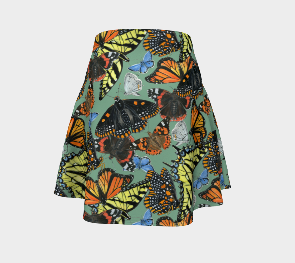 Butterfly Cloud Flare Skirt preview #4