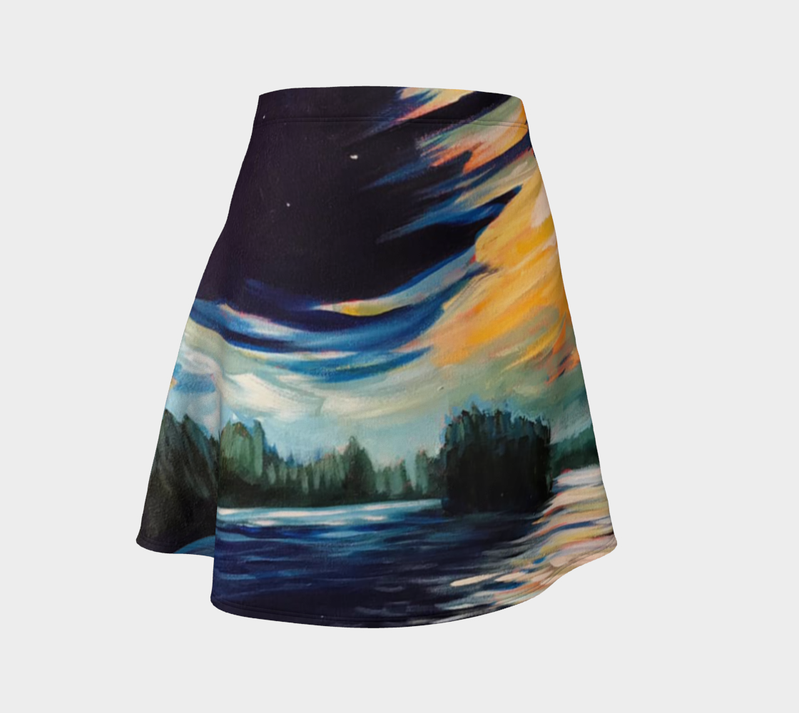 Moon Swept Clouds Skirt preview