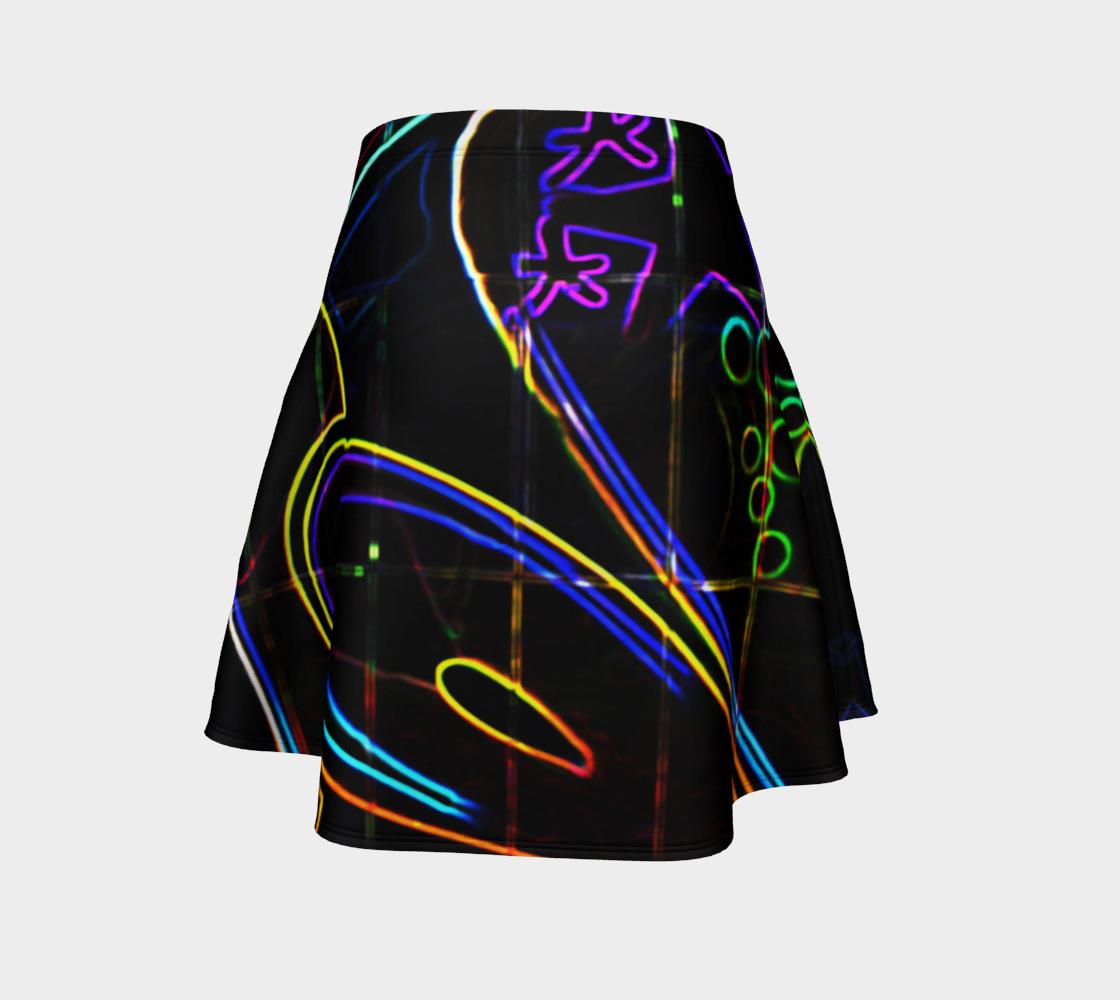 Graffiti 10 Flare Skirt preview #4