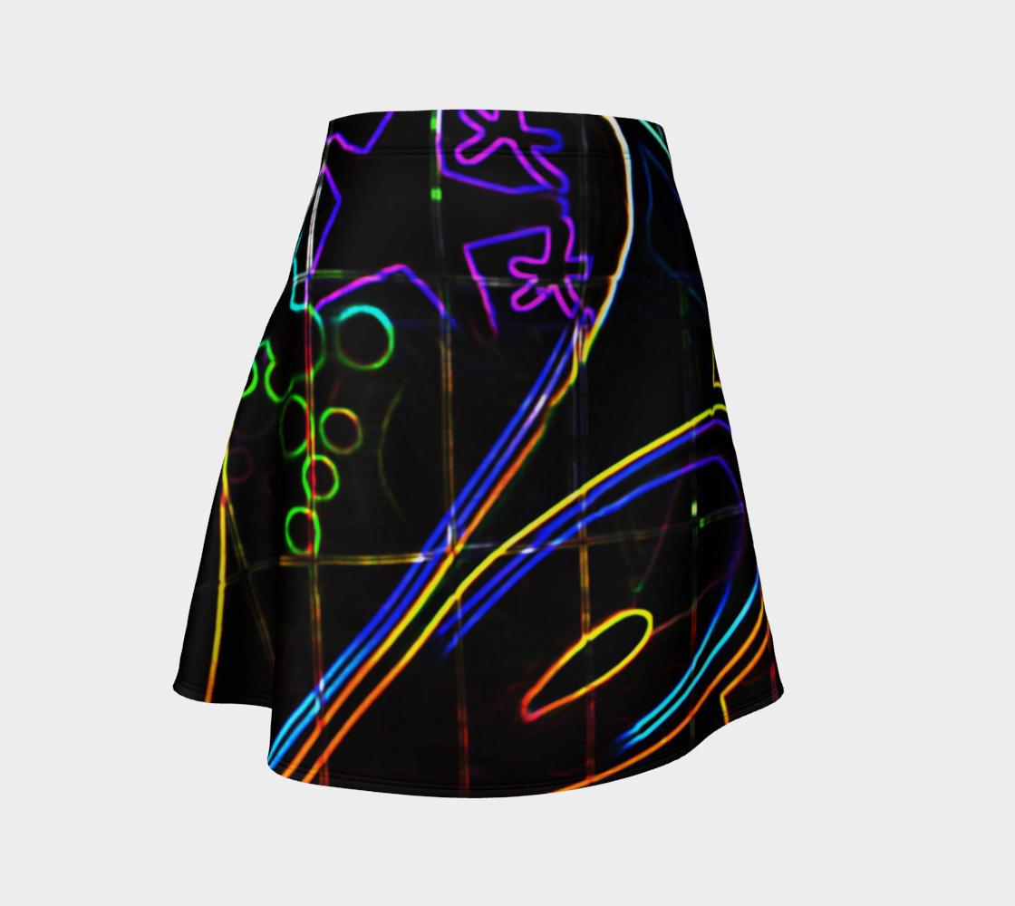 Graffiti 10 Flare Skirt preview