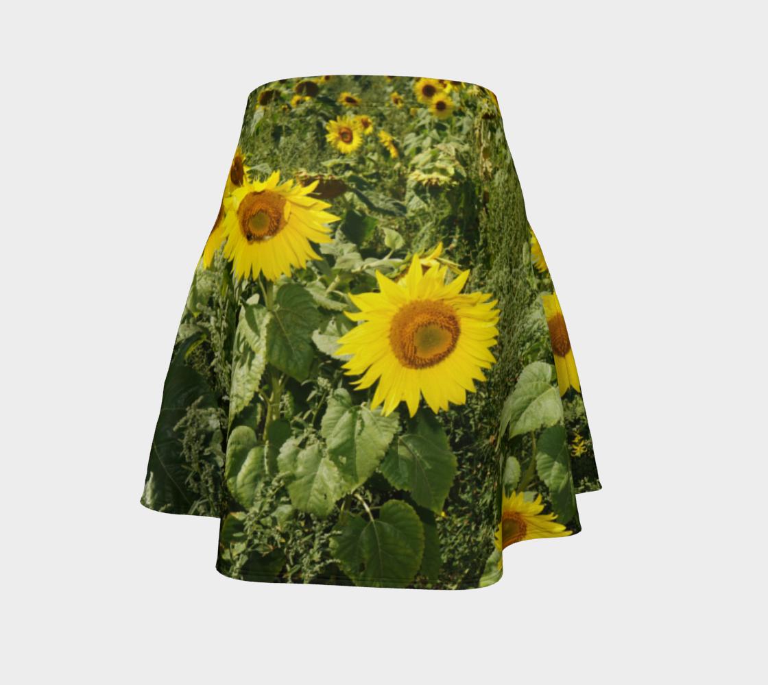 Sunflower Flare Skirt preview #4
