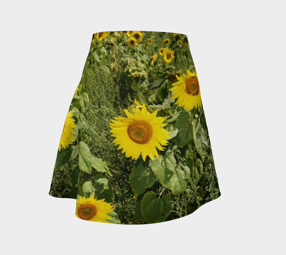 Sunflower Flare Skirt preview