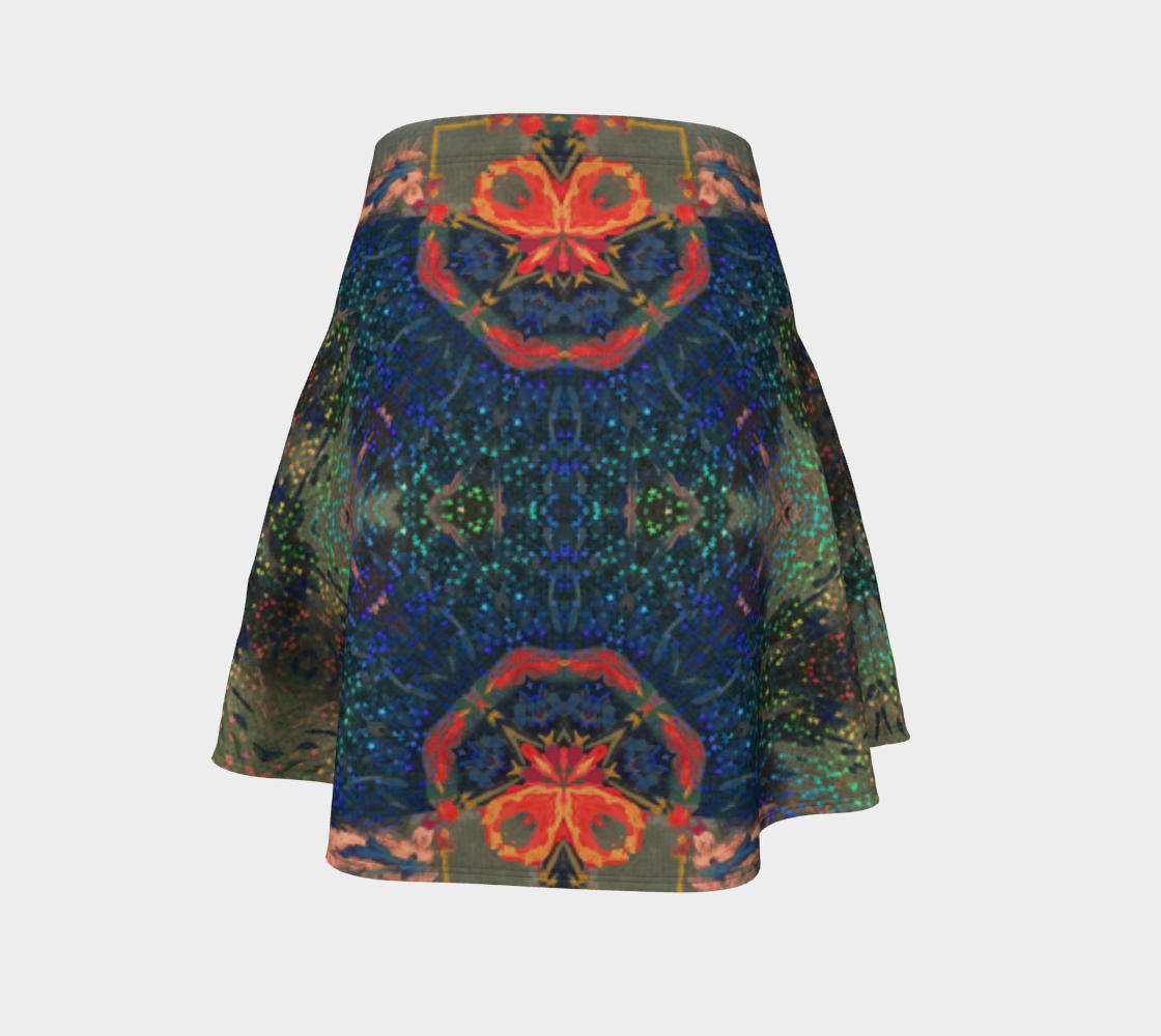 Star-Spangeled Glitterati Flare Skirt preview #4