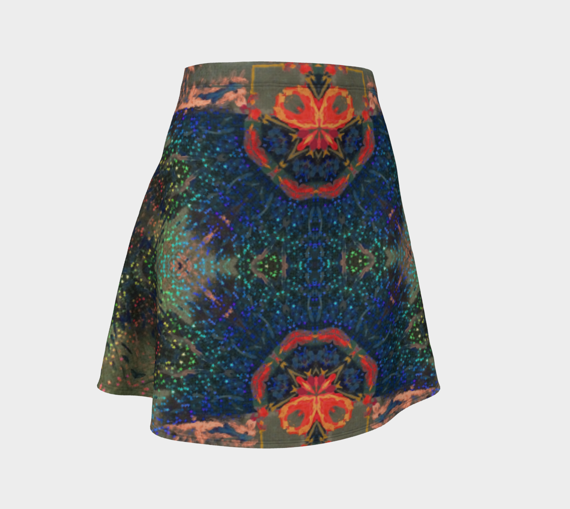 Star-Spangeled Glitterati Flare Skirt preview
