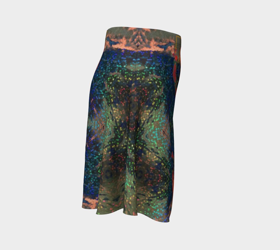 Star-Spangeled Glitterati Flare Skirt preview #3