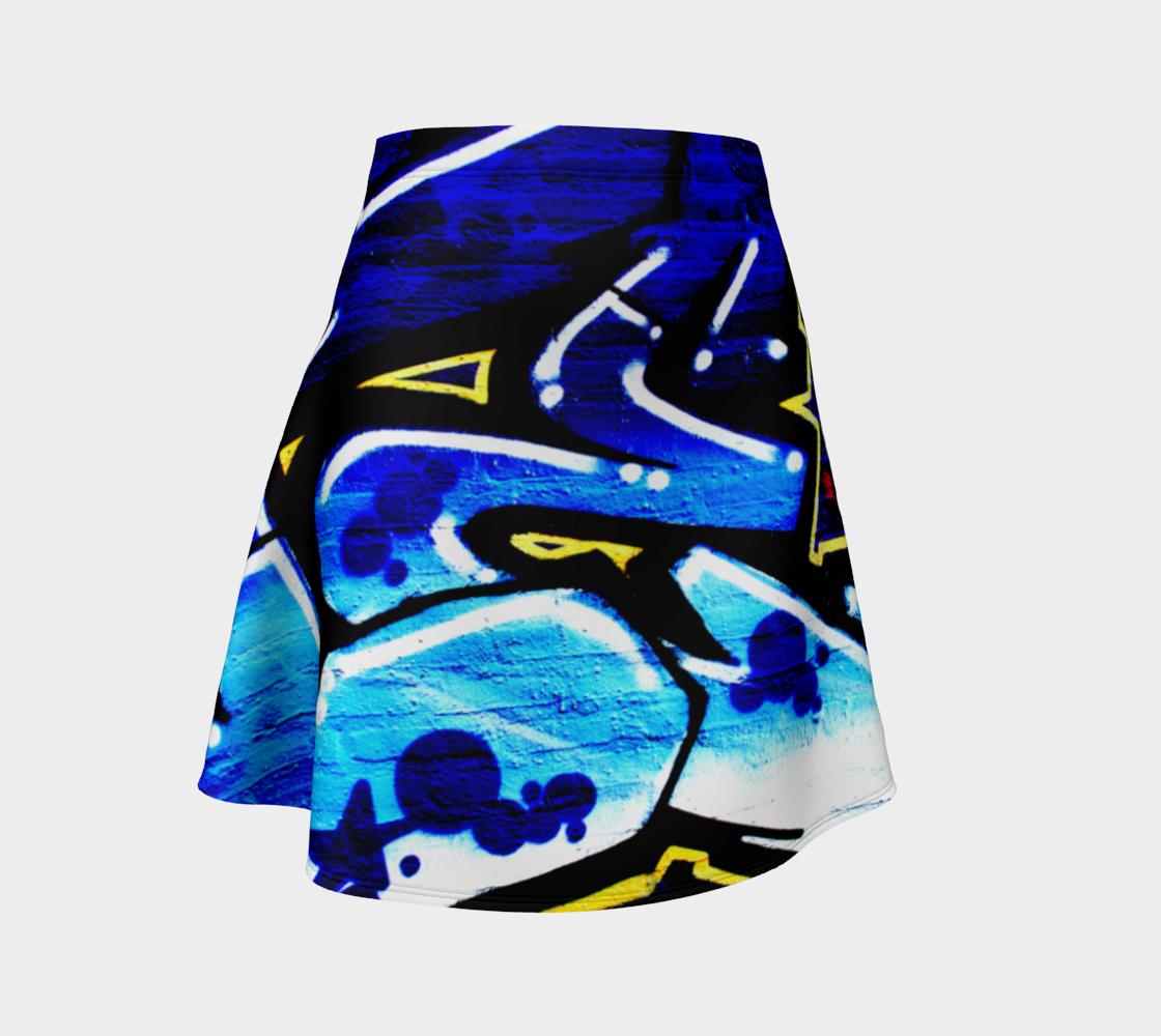 Graffiti 15 Flare Skirt preview
