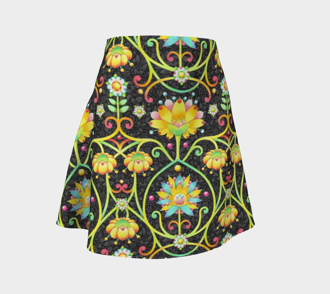 Aperçu de Fantasy Damask Flare Skirt