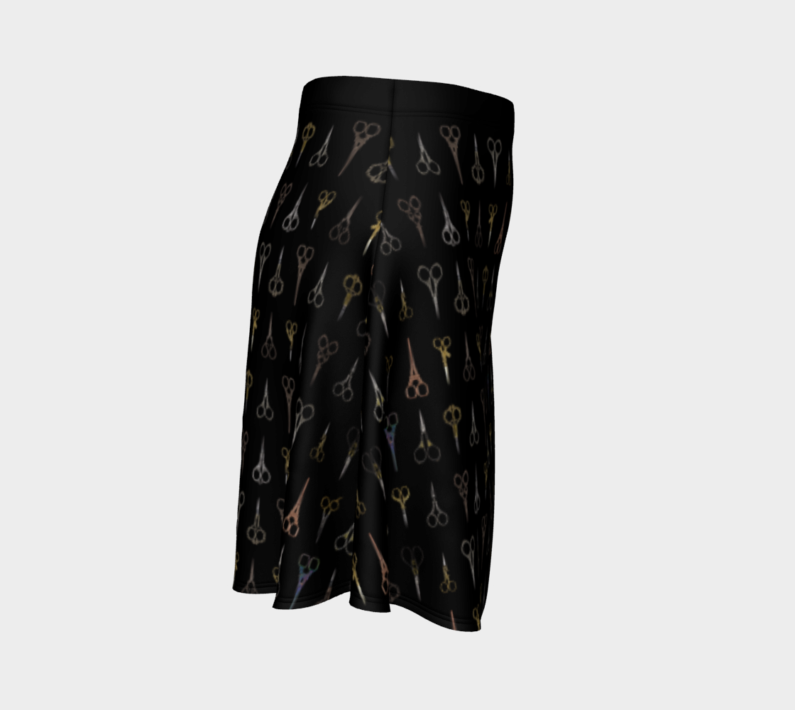 Fancy Scissors Flare Skirt preview #3