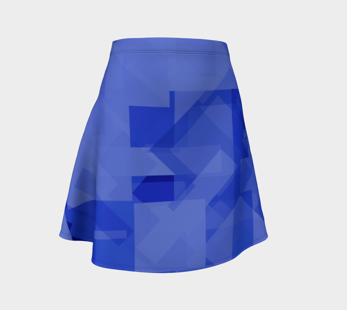 Blue is Better Flare Skirt preview