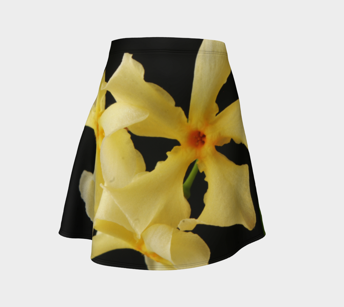 Star Jasmine Flower Flare Skirt preview