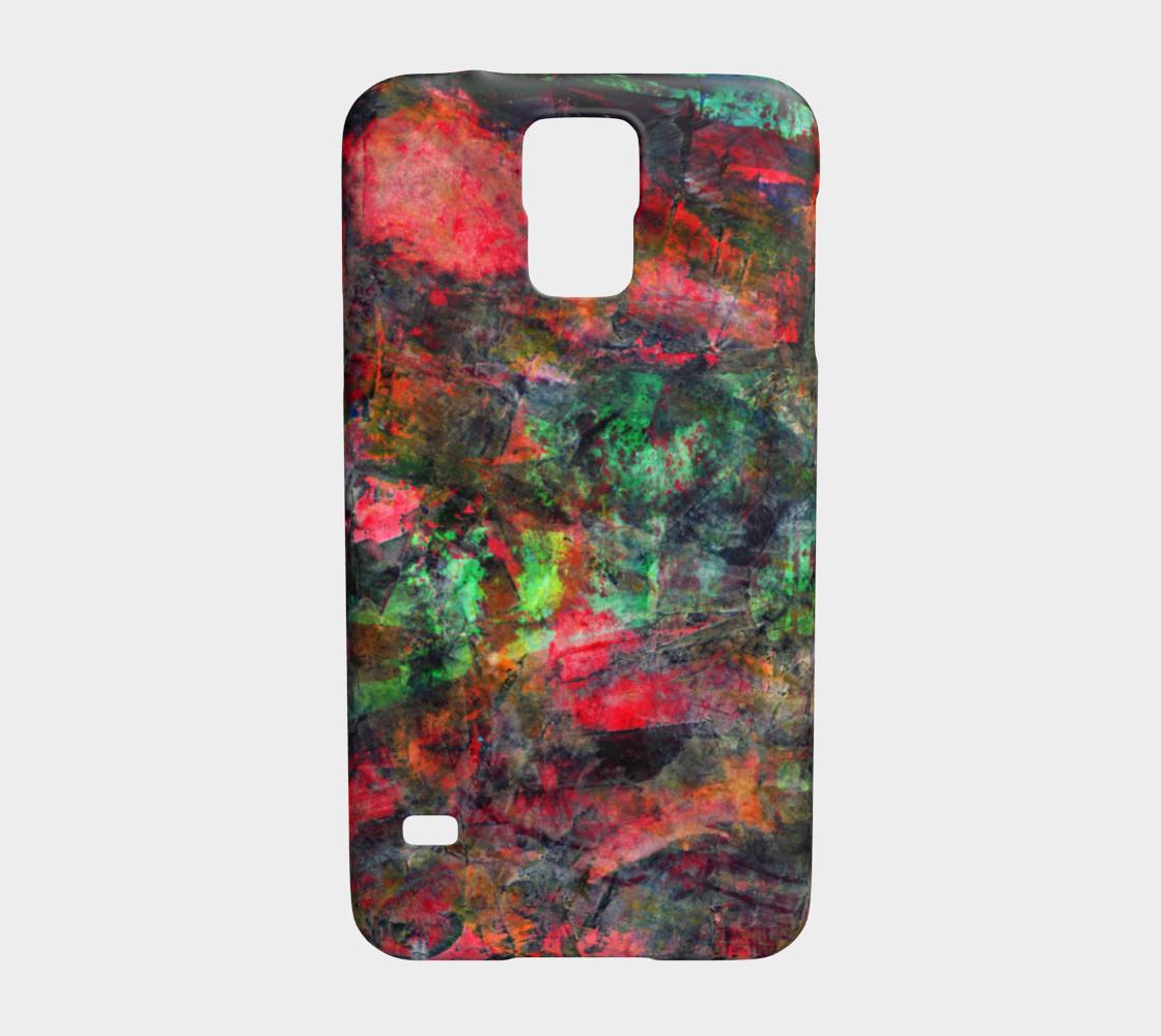 Abstract Garden Phone Case preview