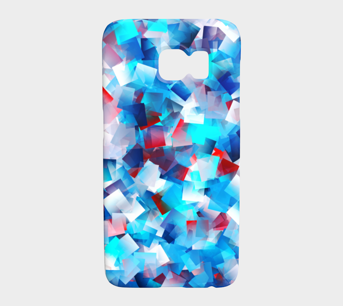 Bright Blue Cubes preview