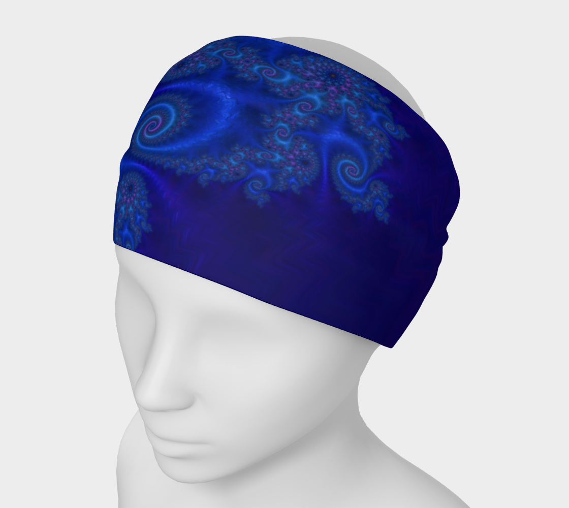 Velvet Dragon Indigo Headband preview