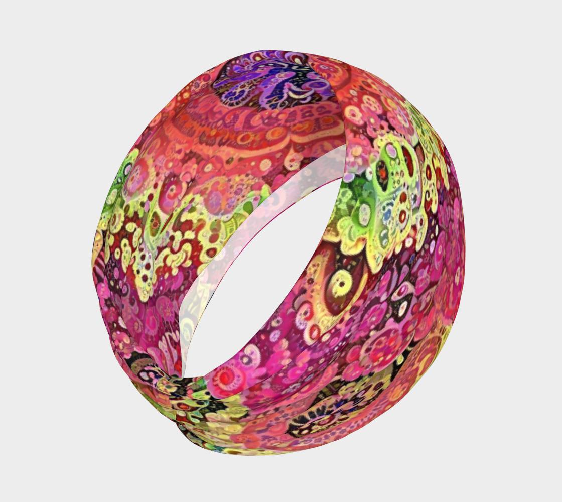 Acid Flower Child Headband preview #2