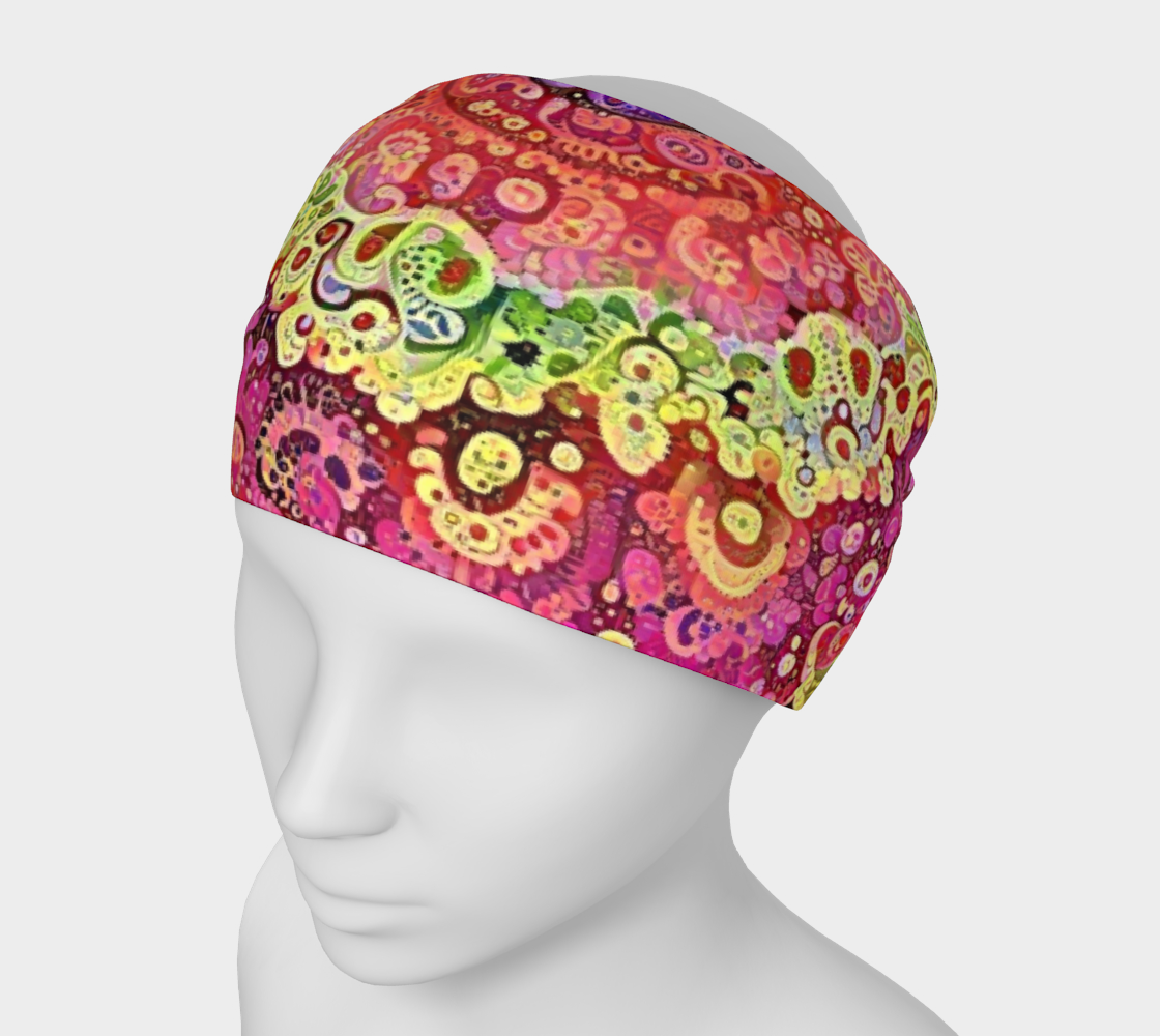 Acid Flower Child Headband preview #1