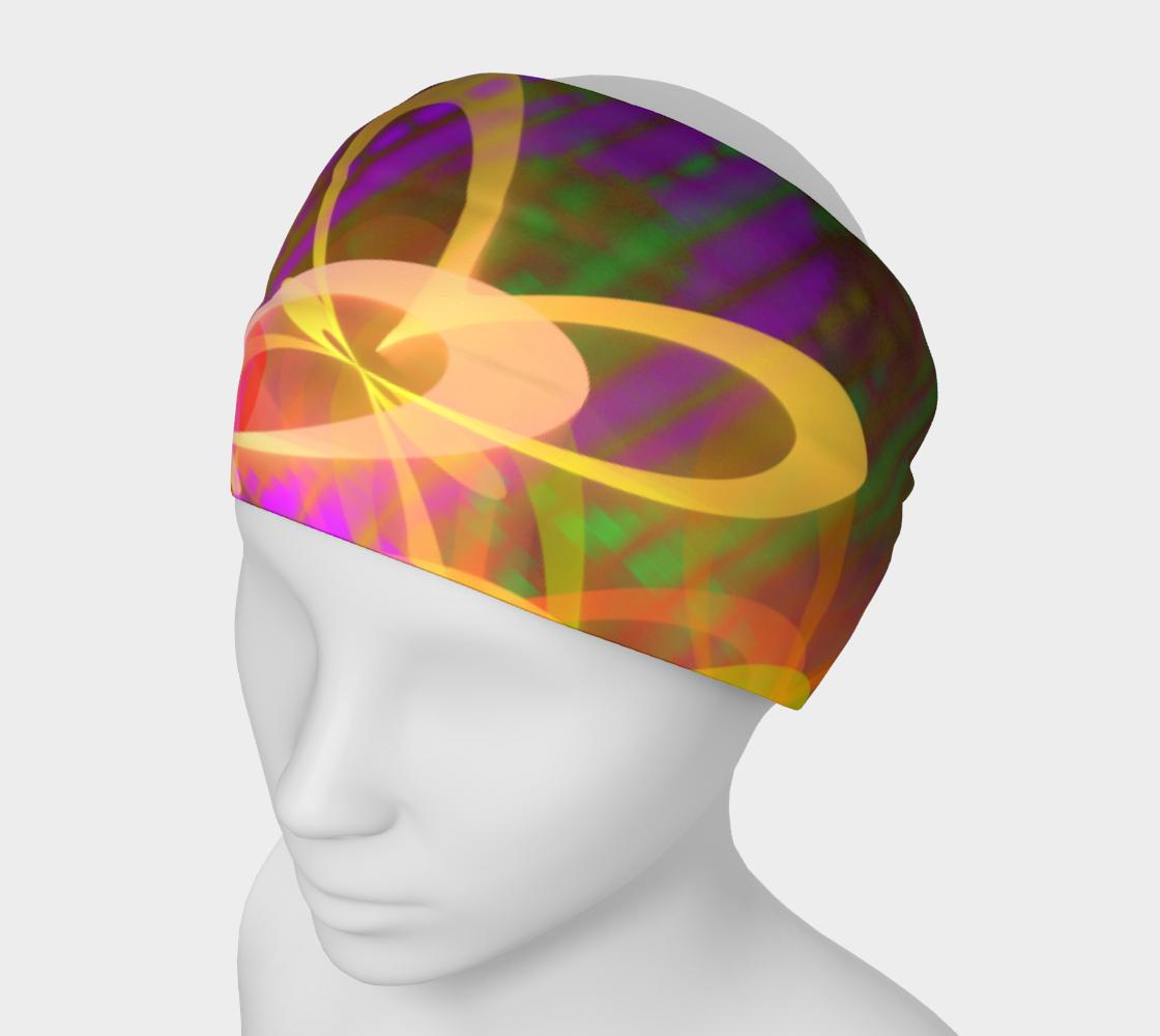 Neon Graffiti Headband preview