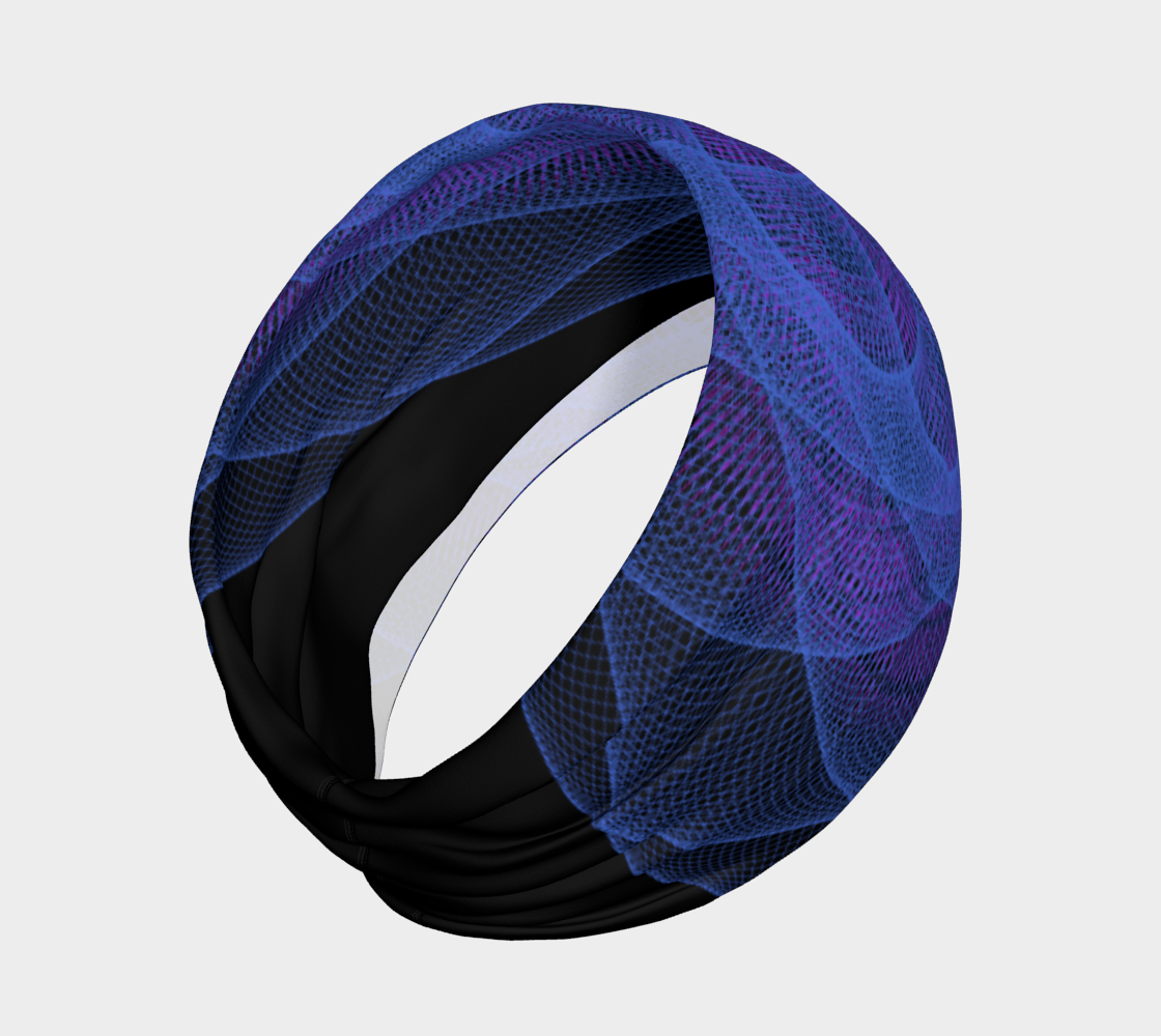 Omnigeometry 1 Headband Miniature #3