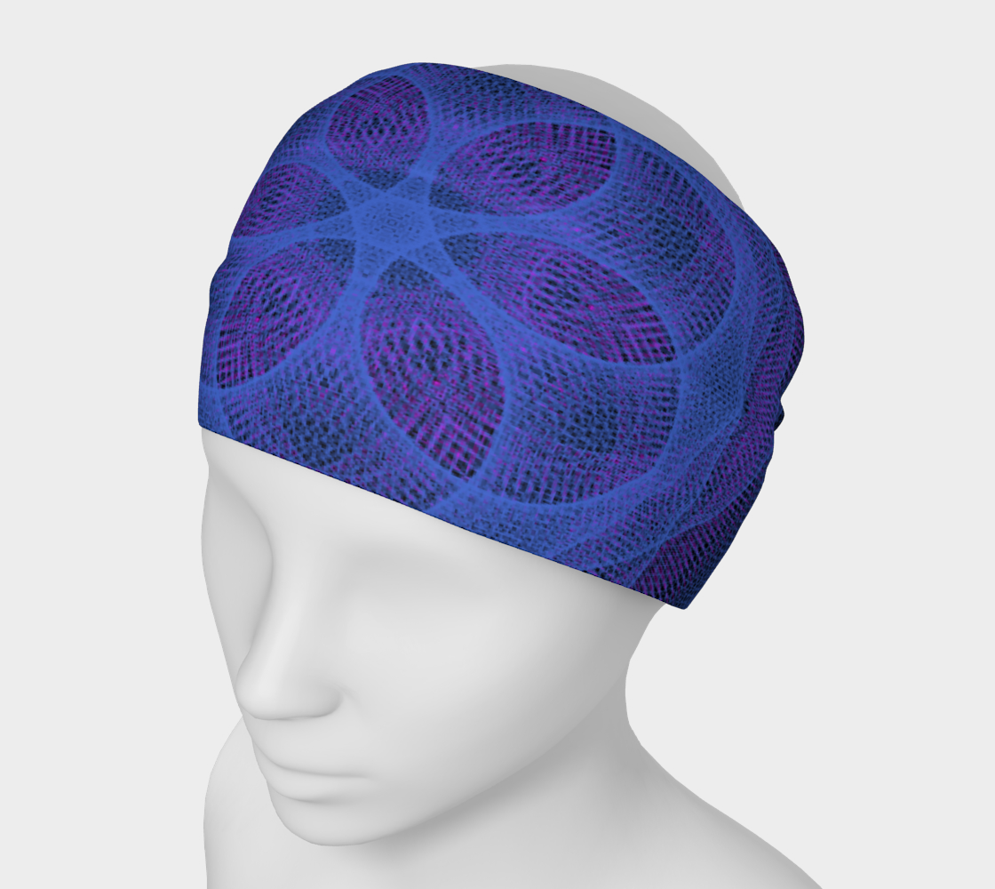 Omnigeometry 1 Headband Miniature #2