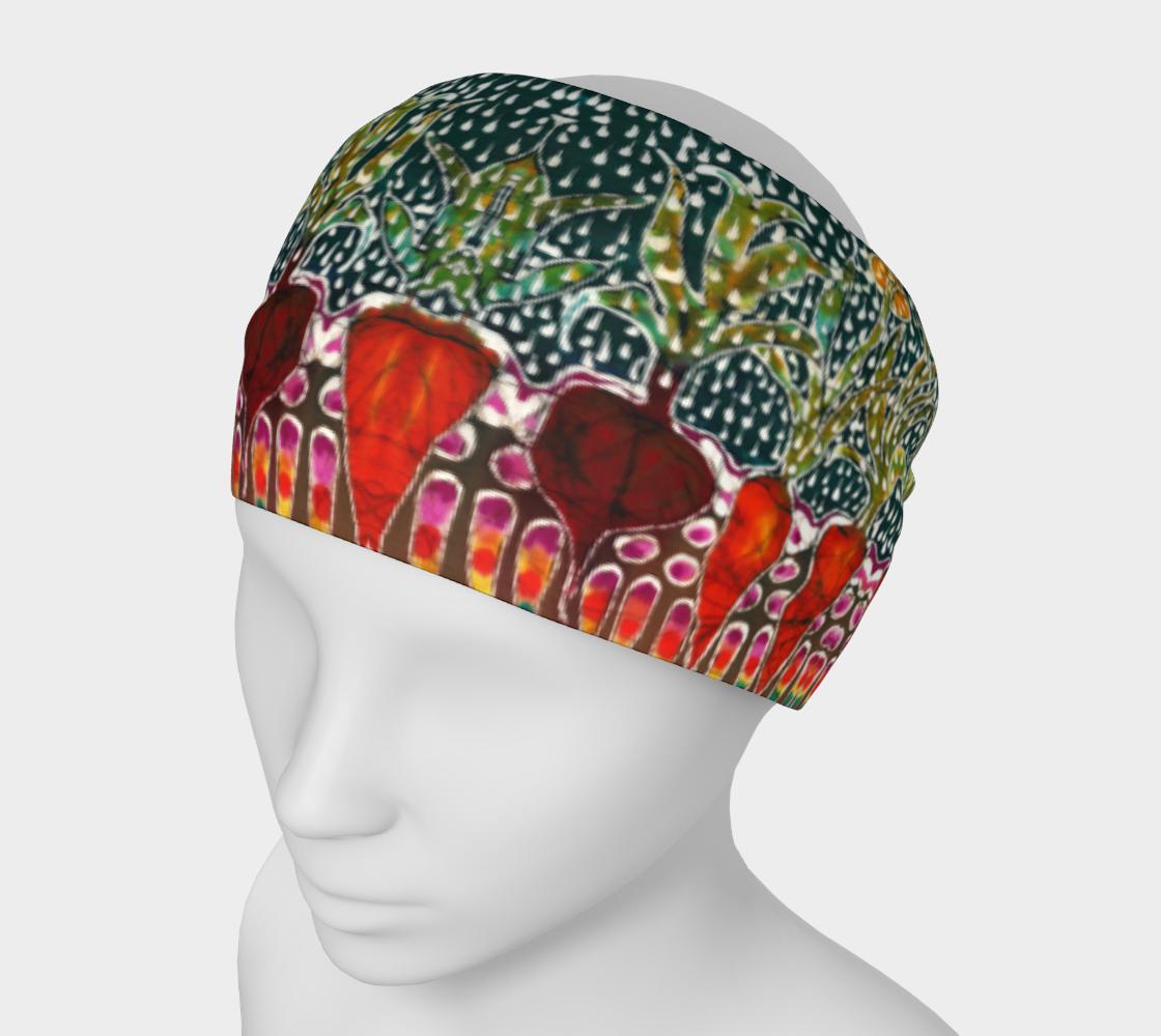 Sun and Rain Garden Headband preview #1