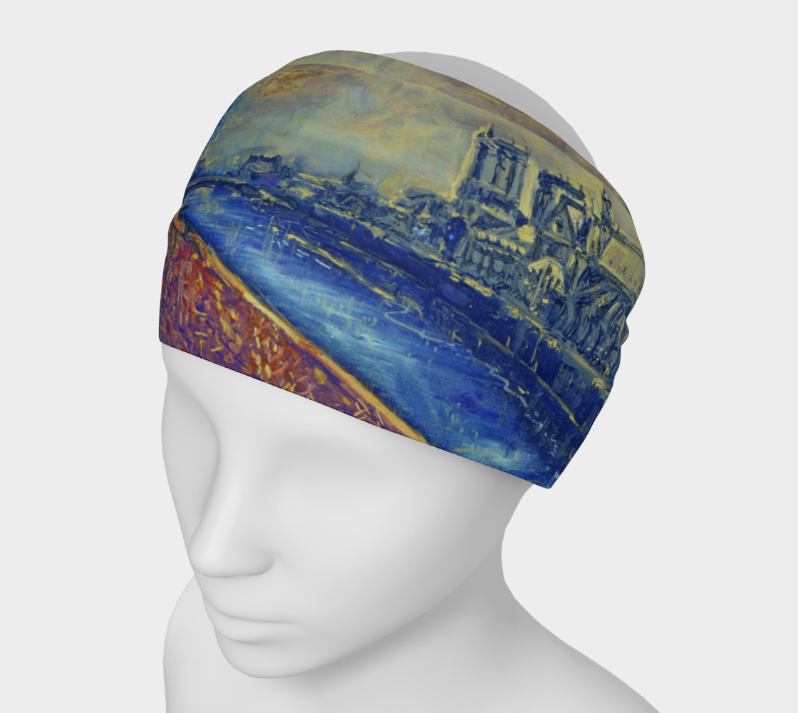"""""""Notre Dame Tribute: 4-15-19 by Lowell S.V. Devin"""" / Commemorative Headband II. preview"""
