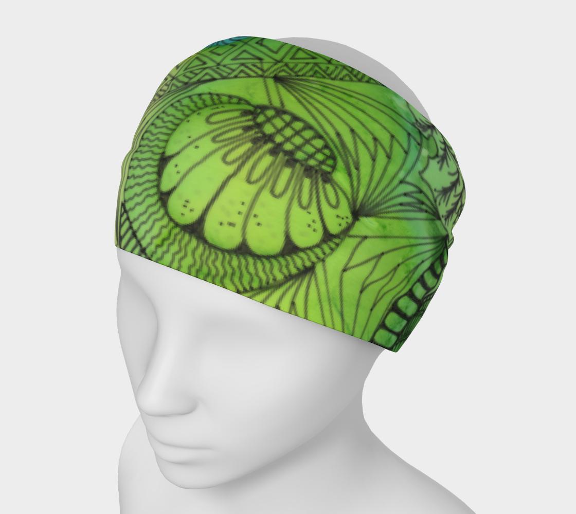 February Green Headband preview