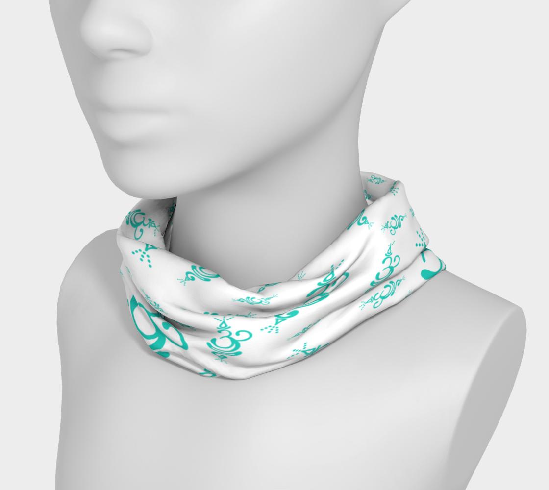 Aperçu de Breathe Teal Cancer Headband  #3