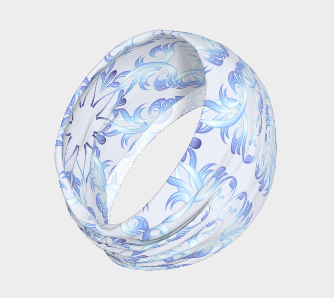 Aperçu de Baroque Style Retro Floral Pattern #2