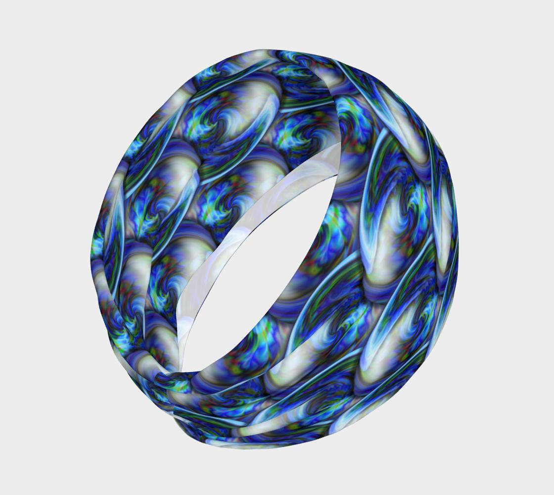 Aperçu de Abstract Blue Babbls  #2