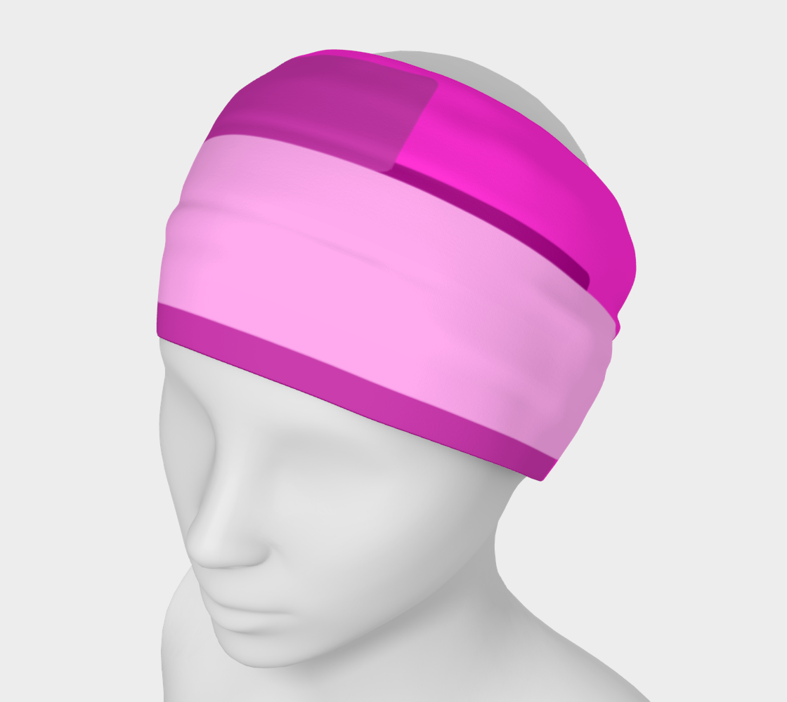Pink Abstract Headband preview
