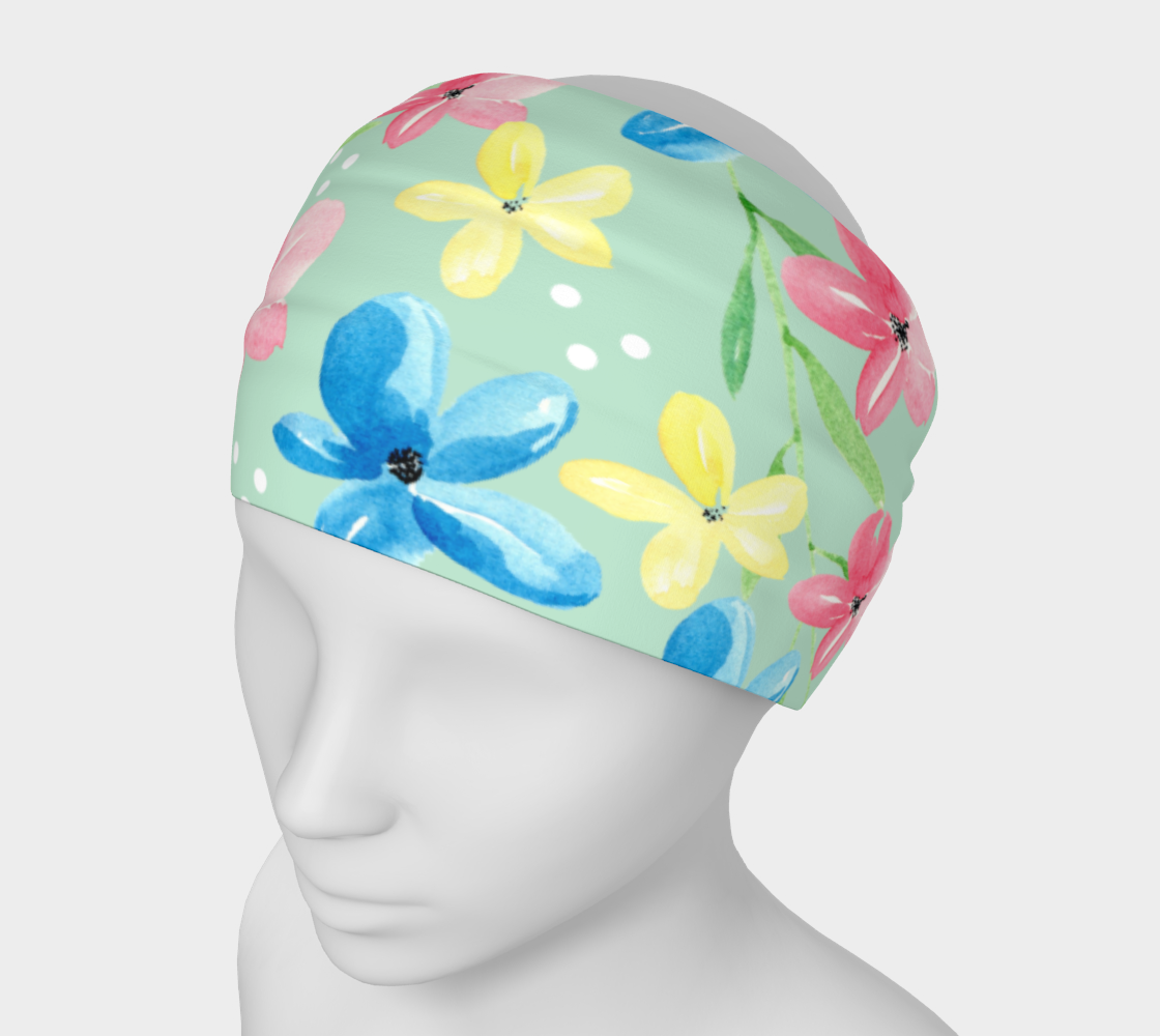 Floral Headband preview