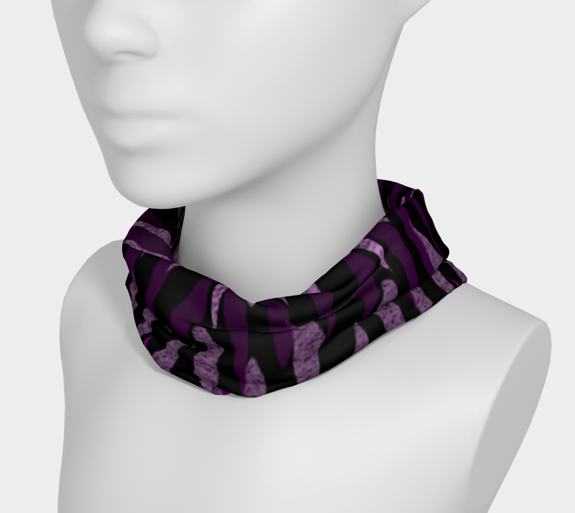 Purple Ice Abstract Headband preview #3