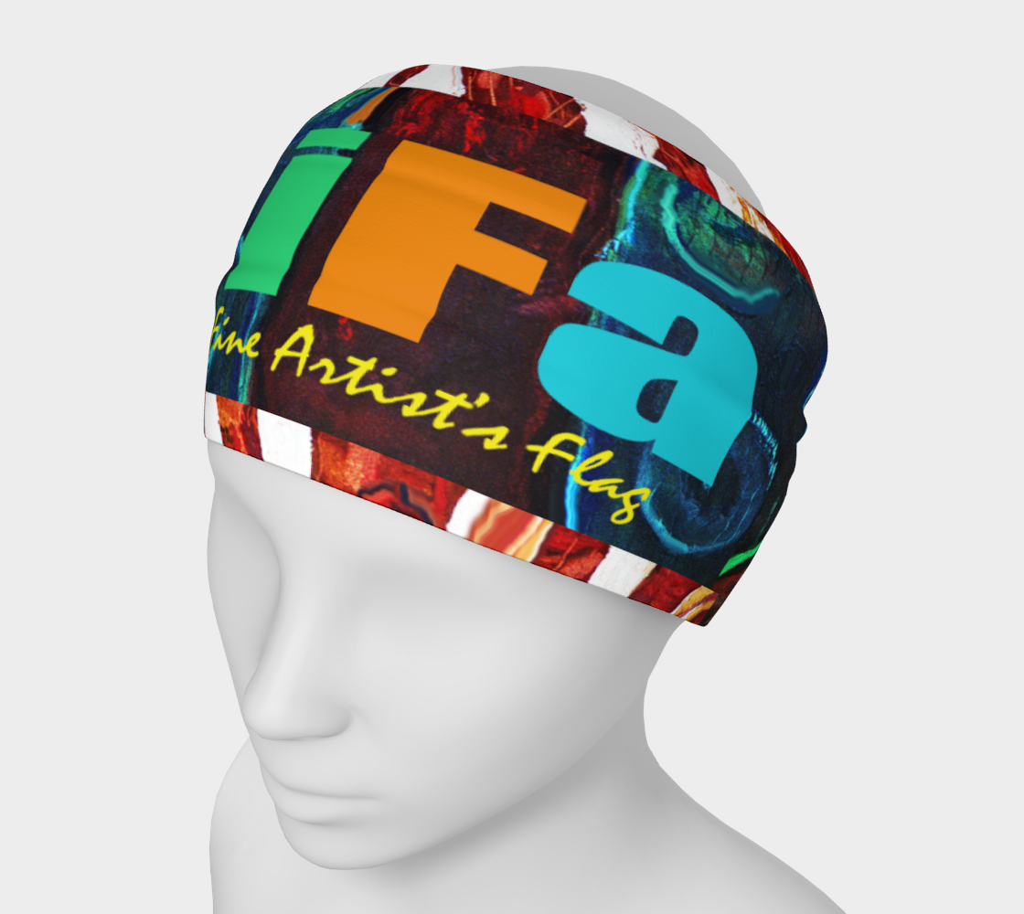 OFFICIAL INT'L FINE ARTIST'S FLAG HEADBAND preview