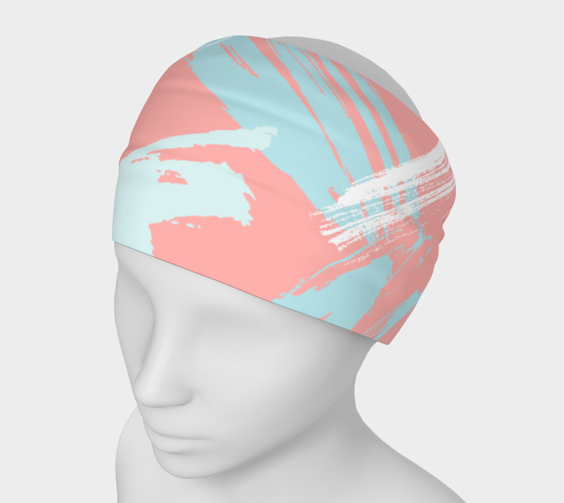 Pastel Abstract Brush Stroke Headband preview