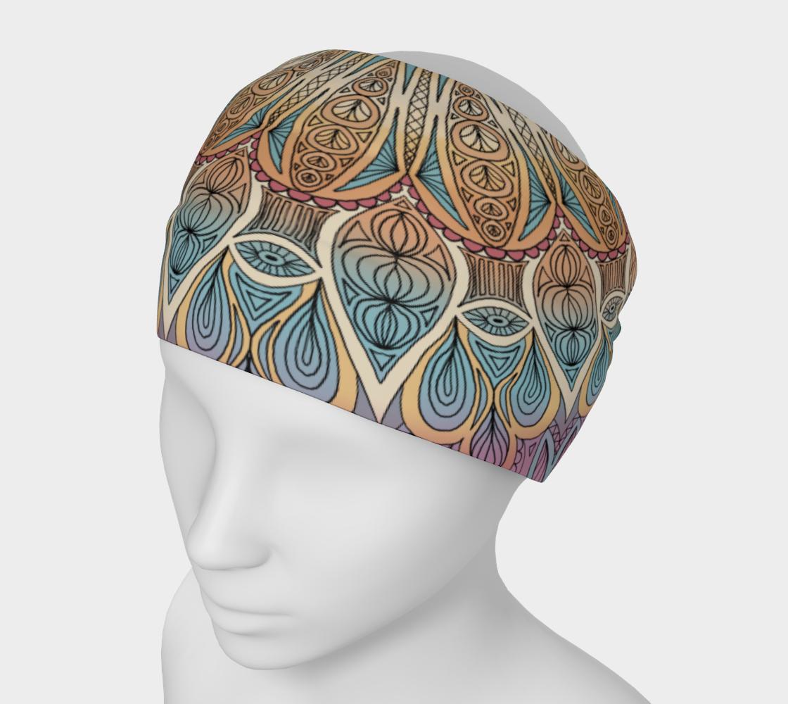 Aperçu de Gentle Touch Mandala Headband #1