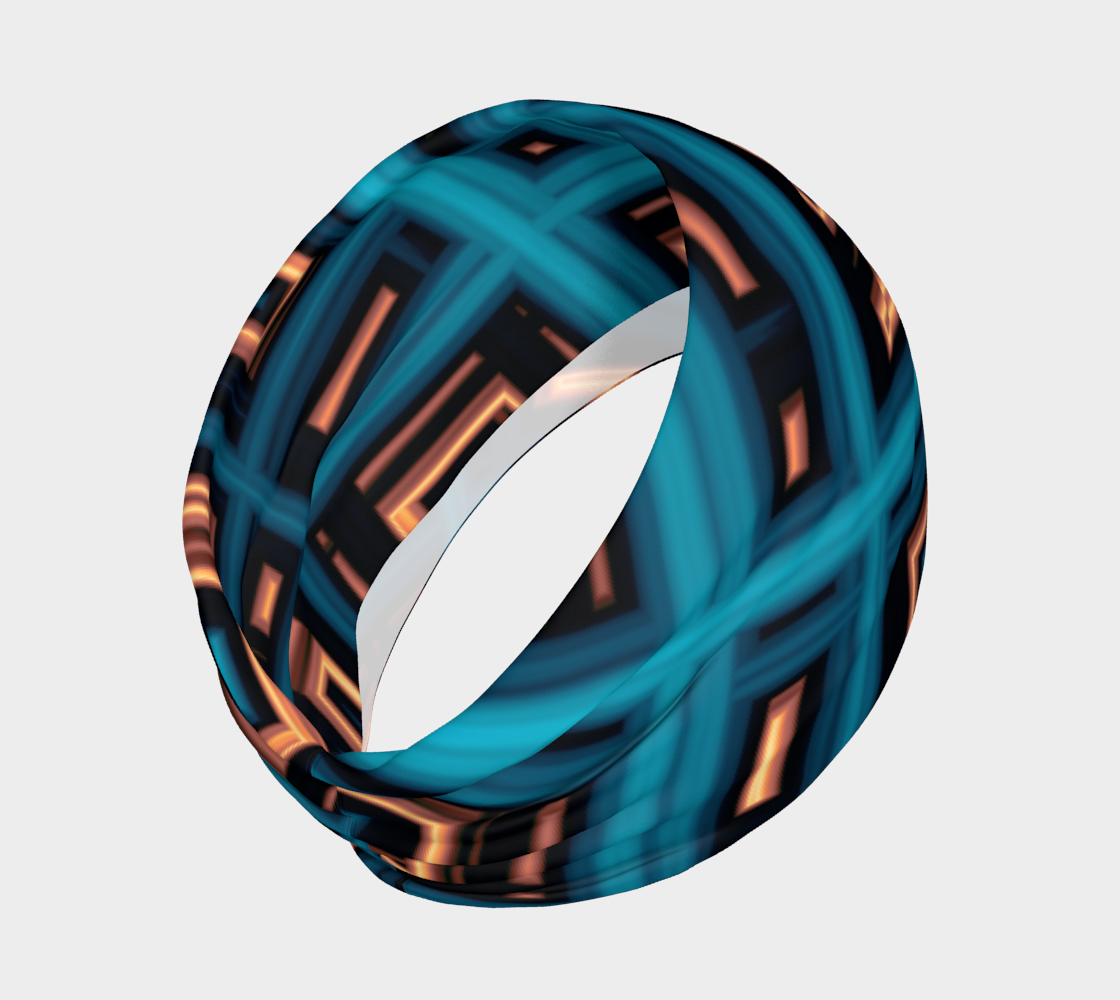 Aperçu de Copper Squares Headband #2