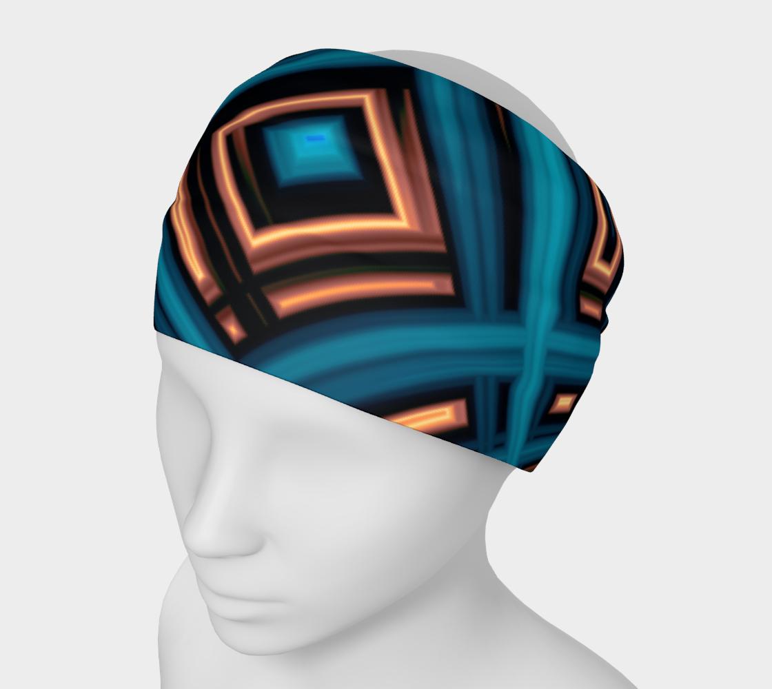 Aperçu de Copper Squares Headband #1