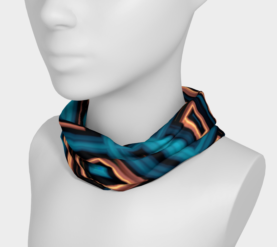 Aperçu de Copper Squares Headband #3